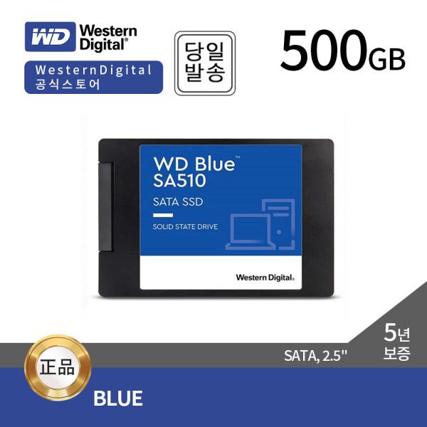 WD Blue 3D SSD 500GB SSD하드 {정품판매점} ES 상품이미지