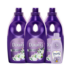 Highly concentrated Downy fabric softener 1L x3pcs