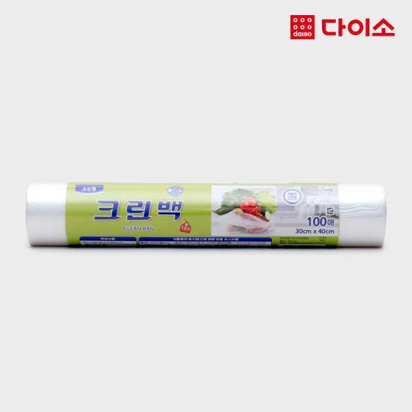 다이소 크린백롤타입100매(30 40CM)-1011133 상품이미지