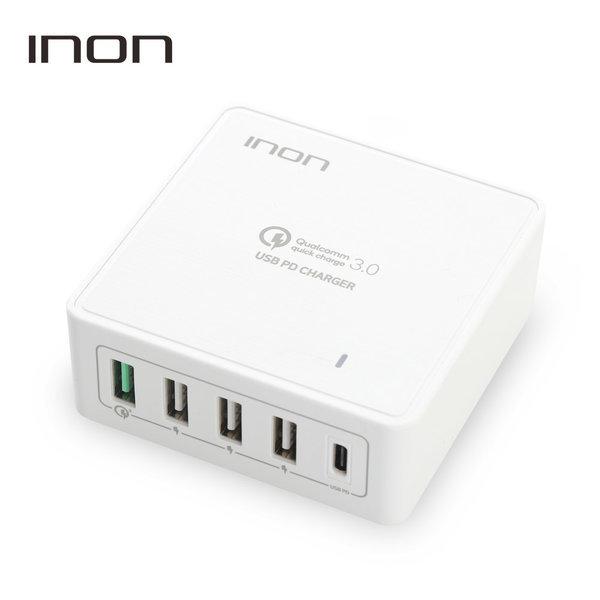 아이논 퀵차지3.0 USB PD 고속 멀티충전기 (화이트) 상품이미지