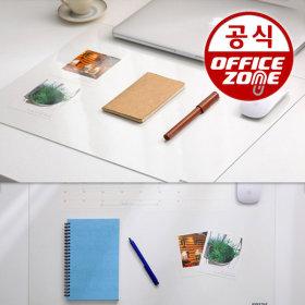 고투명 고무판 50x38 데스크매트 투명고무판 커팅매트