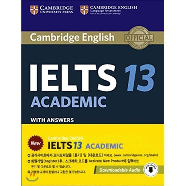 Cambridge IELTS 13 Academic Student s Book with Answers (오디오 다운로드)  Cambridge University Press 상품이미지