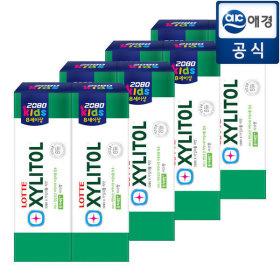 2080 어린이 치약 자이리톨  80gx8개 사과향/8세이상