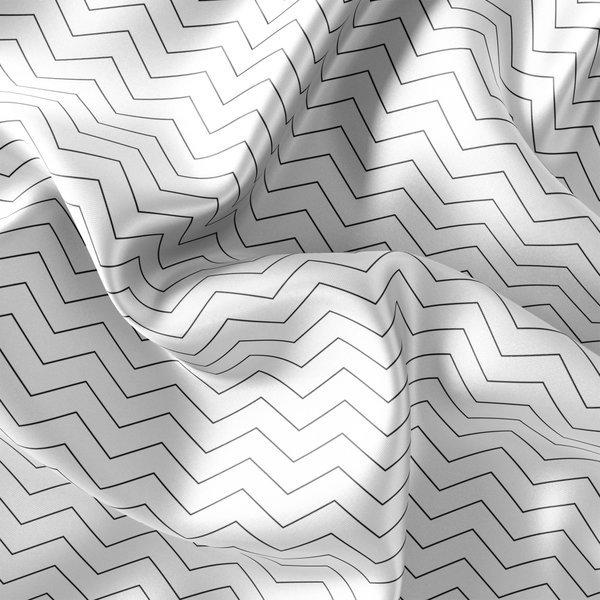 패브릭 샤워커튼-물결무늬 180x180cm / 샤워커텐 욕실 상품이미지