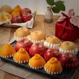 명품 사과배 과일선물 명품 사과4배4황금향4 총5kg