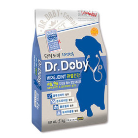 닥터도비 힙앤조인트(관절건강) 5kg 기능성 강아지사료