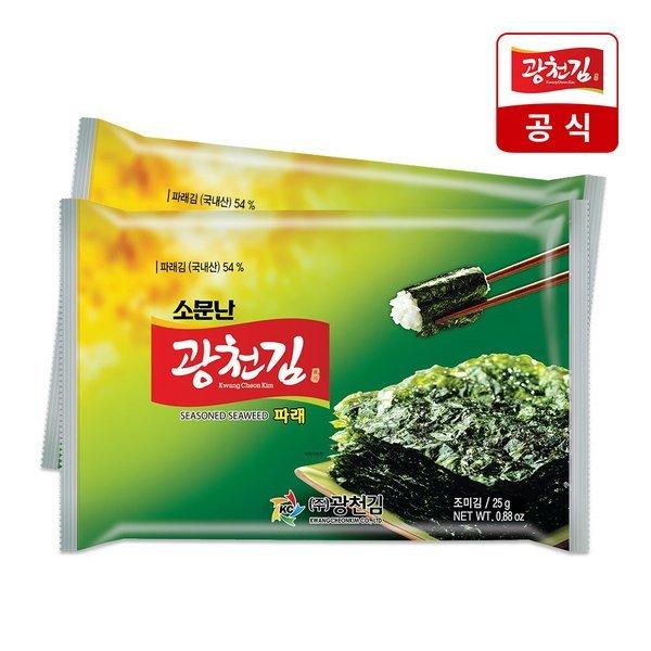 광천김  소문난 광천김 재래도시락김 4g x 48봉 상품이미지