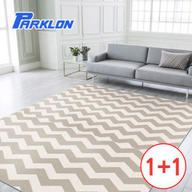1+1/Zigzag/Balcony/Kid'S Floor Mat