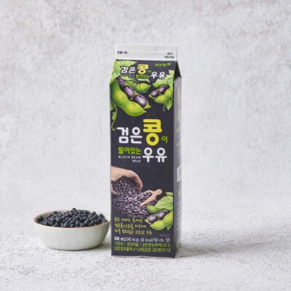 롯데 푸르밀 검은콩우유 900ML 상품이미지