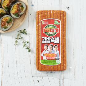롯데 의성마늘김밥속햄 200G