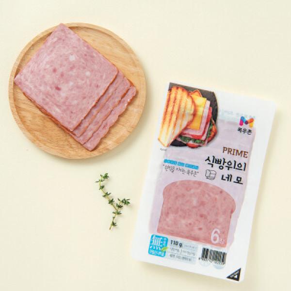 목우촌 식빵위의 네모햄 (110G) 상품이미지