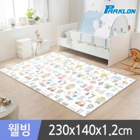 Pororo/Wellbeing/Kid'S Floor Mat/230x140x1.2cm