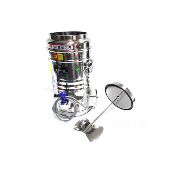 우성금속 장국젓개 전기물끓이기 보온물통 20호 상품이미지