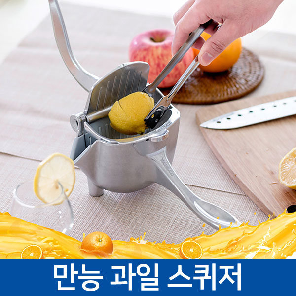 핸디 수동 과일 착즙기 쥬서기 스퀴저 레몬 오렌지 상품이미지