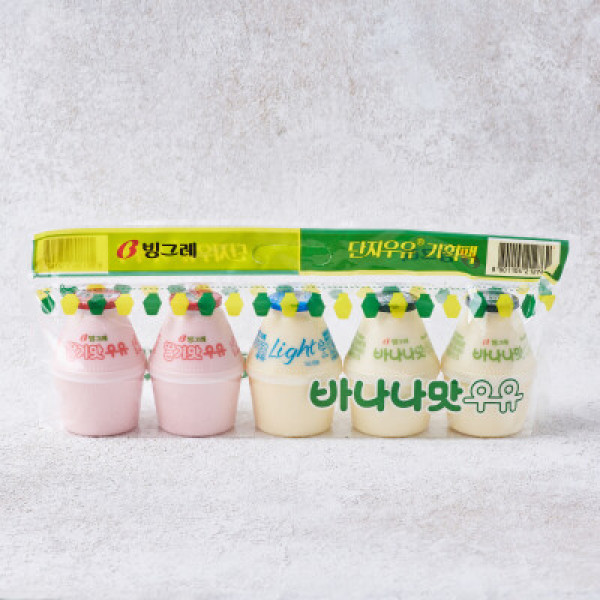 빙그레 바나나우유 (240ml 5입) 상품이미지