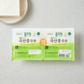 풀무원 국산콩 두부기획 (국산부침300G+국산찌개300G)