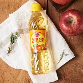 오뚜기 2배 사과식초 500ml