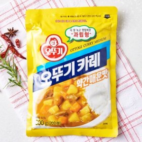오뚜기 카레(약간매운맛/500g)