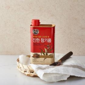 백설 진한참기름(캔) 500ML