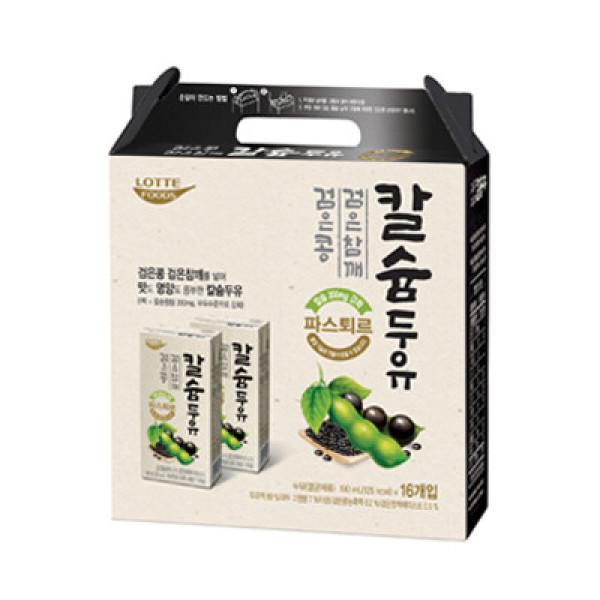파스퇴르 검은콩 검은참깨 칼슘두유 (190ML 16입) 상품이미지