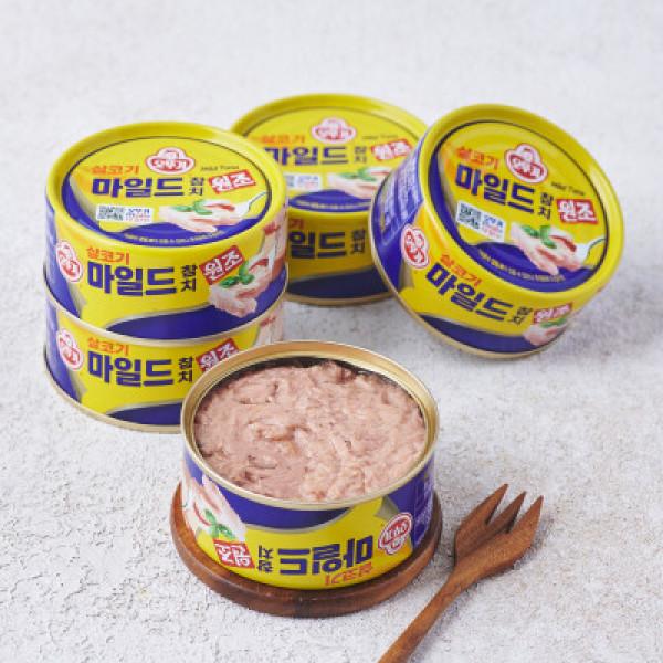 슈퍼스타 오뚜기 마일드참치 (150g 5입) 상품이미지