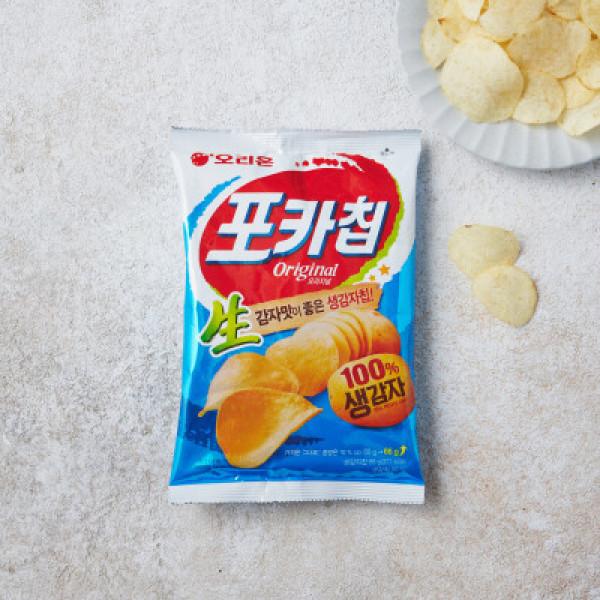 오리온 포카칩 소금맛 (66G) 상품이미지