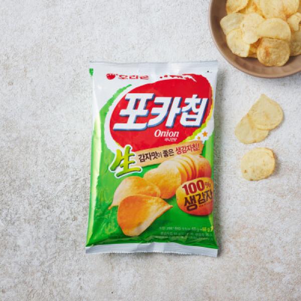 오리온 포카칩 양파 (66G) 상품이미지