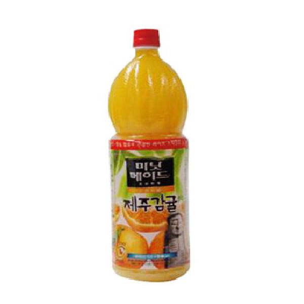 코카 미닛메이드 제주감귤 1.5L 상품이미지