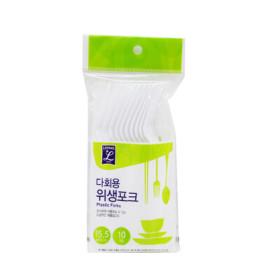리빙L 다회용 위생포크 15.5 10입
