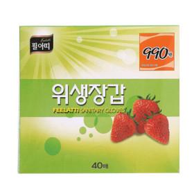 필아띠 위생장갑 40매