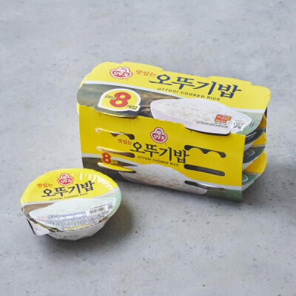 오뚜기 맛있는밥 210G 8입 상품이미지