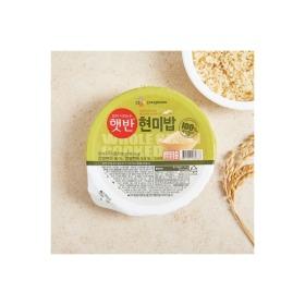CJ햇반100% 현미밥(130G)
