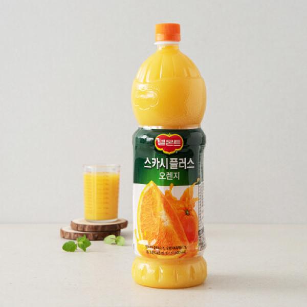 롯데 스카시플러스 오렌지 1.5L 상품이미지
