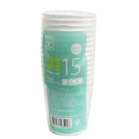 초L)친환경 종이컵(190ML 15P)