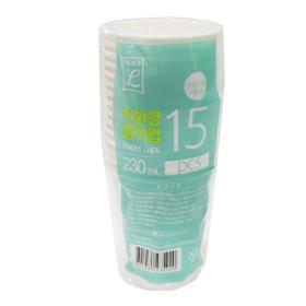 초L)친환경 종이컵(230ML 15P)