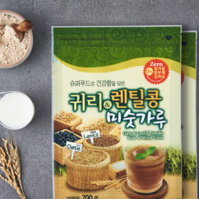 1+1 귀리+렌팅콩 미숫가루(700G/봉)