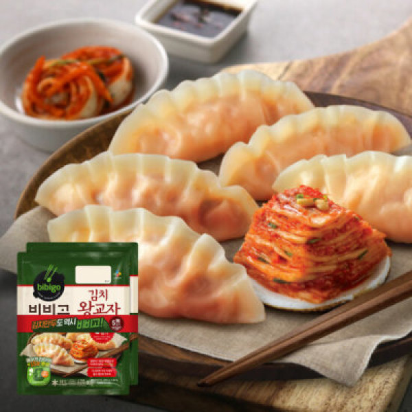 CJ 비비고 김치왕교자 420G 2봉 상품이미지
