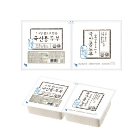 초L)고소한 국산콩두부기획 (찌개300GG+부침300G)