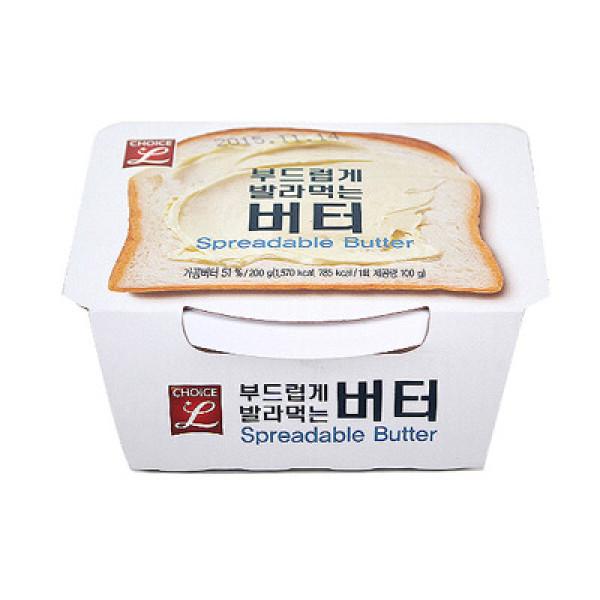 초L) 부드럽게 발라먹는 버터 200G 상품이미지