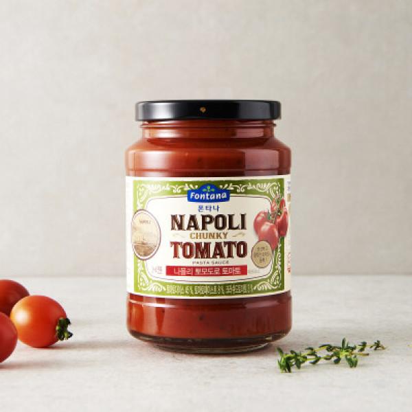 폰타나 나폴리 뽀모도로 토마토 파스타소스 430G 상품이미지