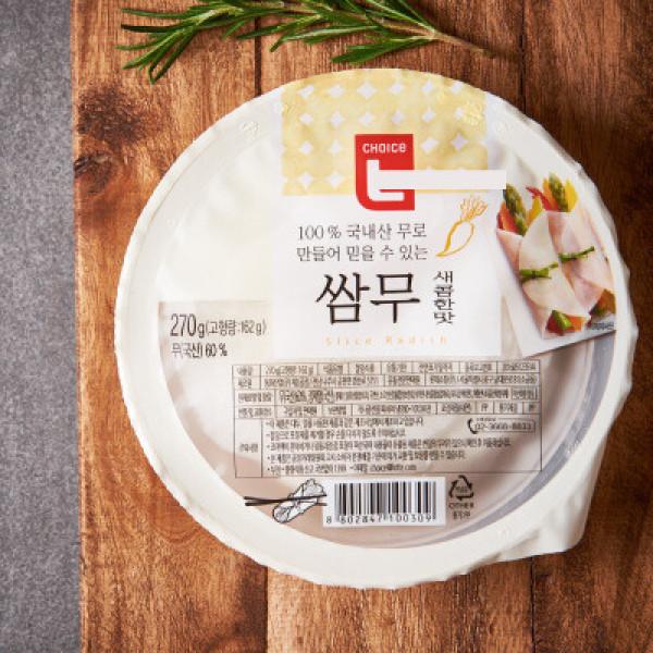 초L)쌈무 새콤한맛 270G 상품이미지