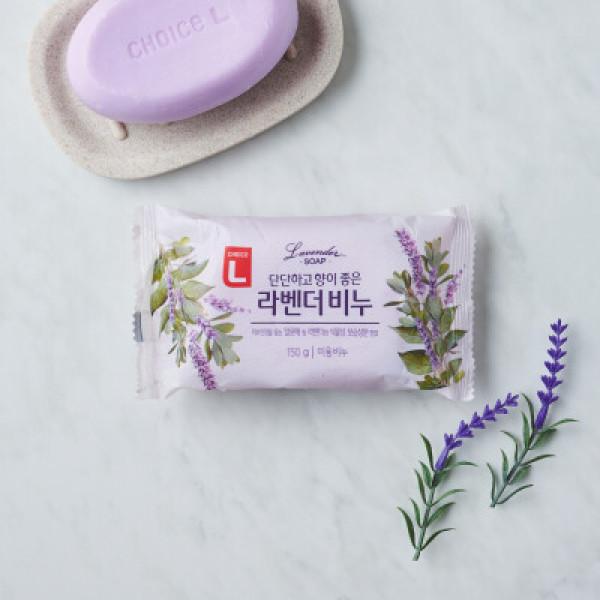 초L) 단단하고 향이좋은 라벤더비누 150G 상품이미지