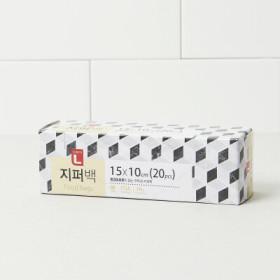 초L 지퍼백(소) 15 10 20매