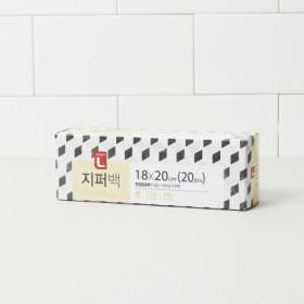초L)지퍼백(중) 18 20  20매