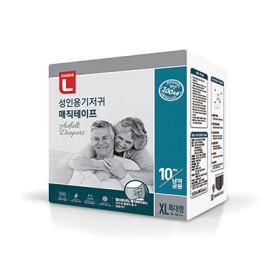 초L)성인용기저귀매직테이프10P(특대형)