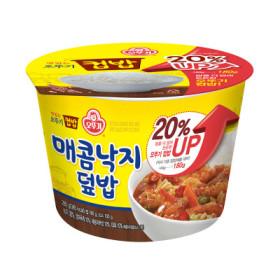 맛있는 오뚜기컵밥 매콤낙지덮밥 280G