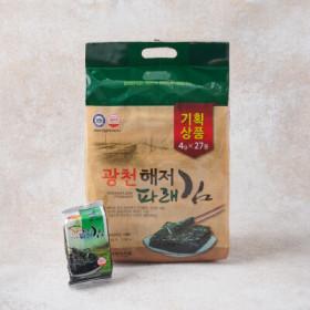 광천파래김(기획) 27봉*4G