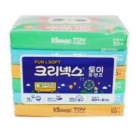 유한킴벌리) 크리넥스토이프렌즈여행용티슈 50매 6