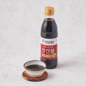 청정원 양조진간장 진한맛플러스 500ML
