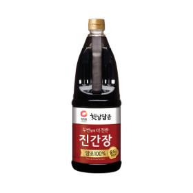 청정원 양조진간장 진한맛플러스 1.7L